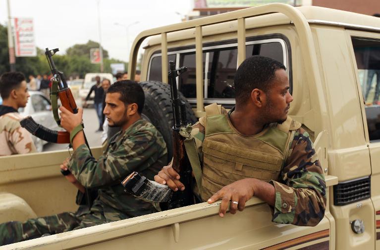 Libya Soldiers