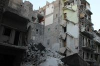 Militant mortar attacks on Aleppo kill 20