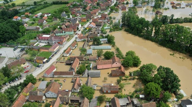 One-fourth of Bosnians affected by flood