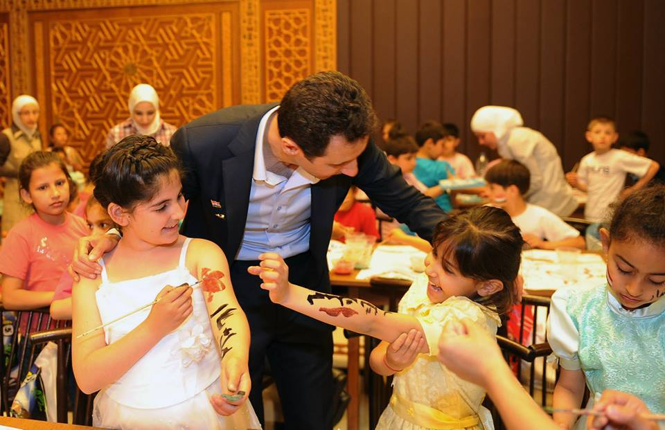 President Bashar al-Assad and Mrs. Asma al-Assad10