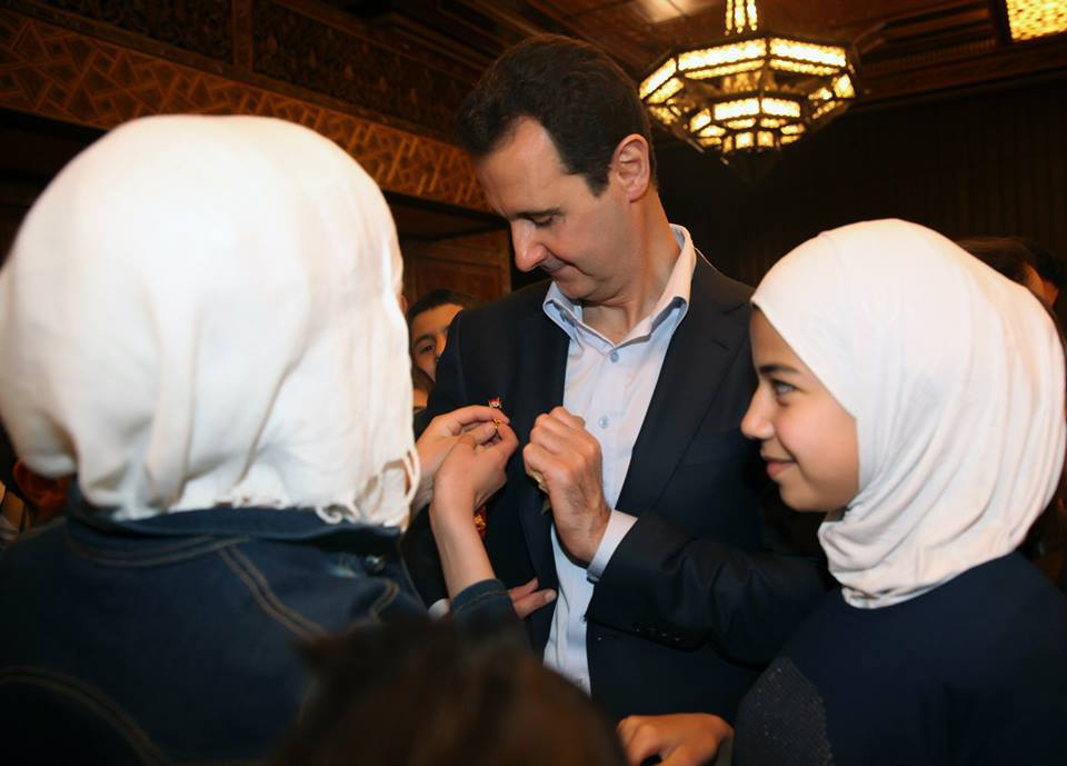 President Bashar al-Assad and Mrs. Asma al-Assad14