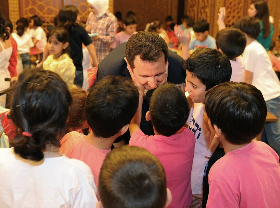 President Bashar al-Assad and Mrs. Asma al-Assad17
