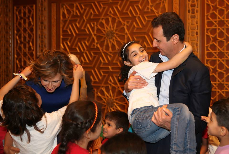 President Bashar al-Assad and Mrs. Asma al-Assad18