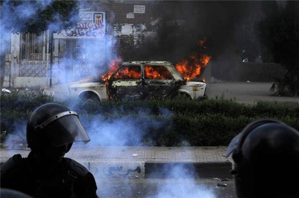 Several injured as blast hits Ain Shams University