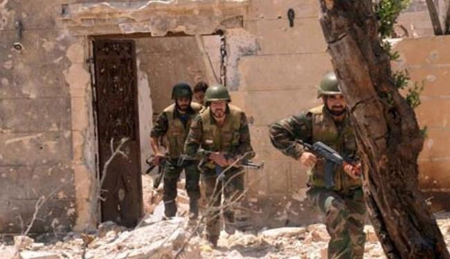 Syria army tightens noose around militants