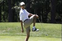 Taxpayer cost to maintain Obama's golf handicap