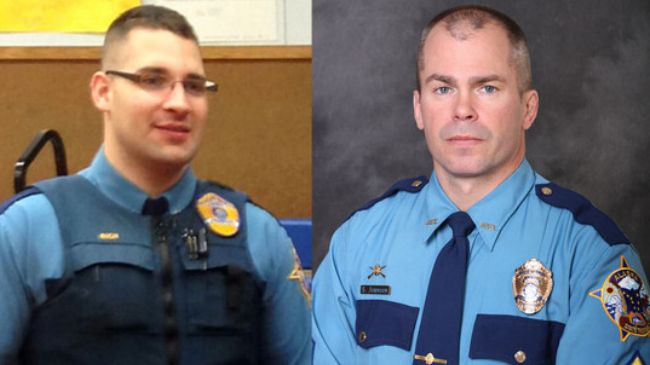 Two troopers from alaska state have been shot to death when they were