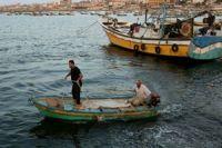 Zionist forces target Palestine fisherman