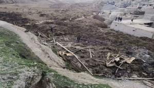 Afghan catastrophic landslide kills over 2,100