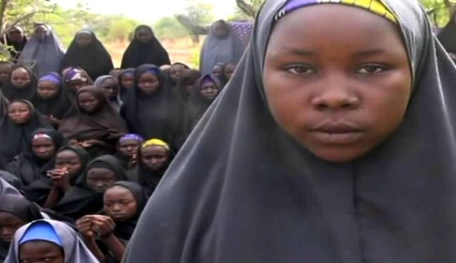Stolen Nigerian girls appear in video for the 1st time