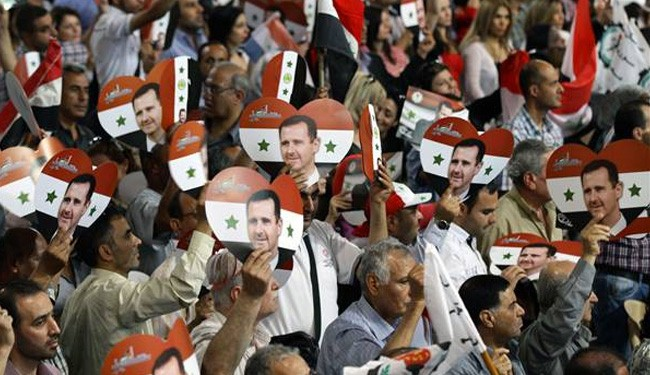 Terrorist mortar attack hits Assad election rally, 21 Syrians dead