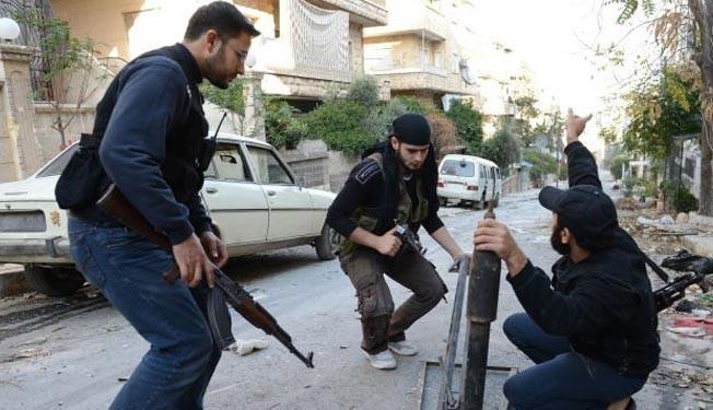 Militant mortar attacks kill 1, injure 13 in Damascus