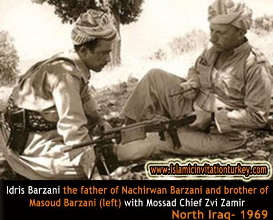 mossad barzani