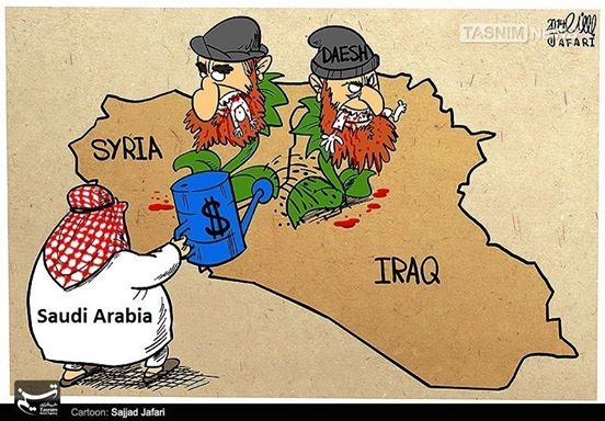 The New Middle East, BUSH, Israël et les Wahabis le veulent Saudi-daash