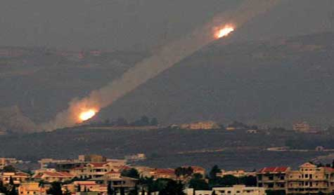 Breaking 6 grad missiles fired from lebanon to ramut neftali and