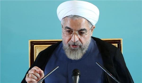 President Rouhani Blasts US for Shaking Iran-Powers Talks