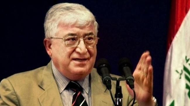 378767_Iraq-president-Massoum