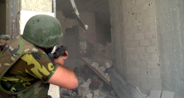 Army units start entering Helfaya town in Hama, inflict heavy losses upon terrorists in several provinces