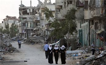 Gaza truce talks about security not peace
