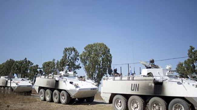 Militants free UN peacekeepers in occupied Golan Heights