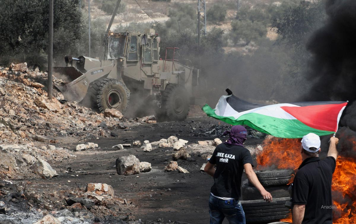 Israeli incursions protested in Nablus