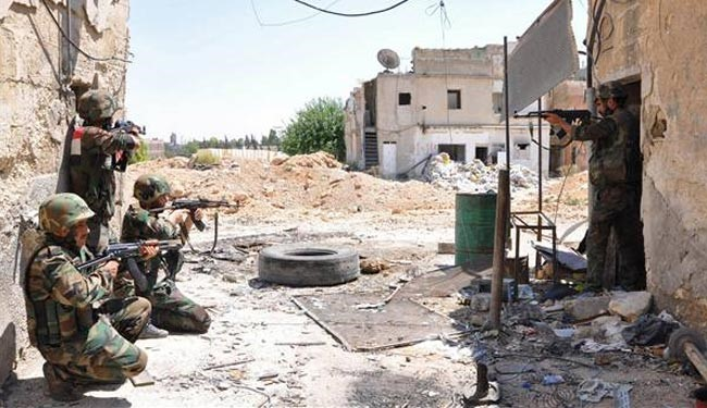 Syrian forces escalate airstrikes on militants in Jobar