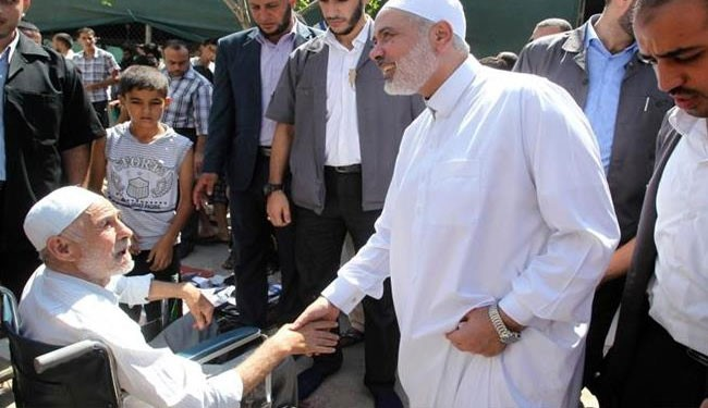 Hamas leader rejects Israel's disarmament demand