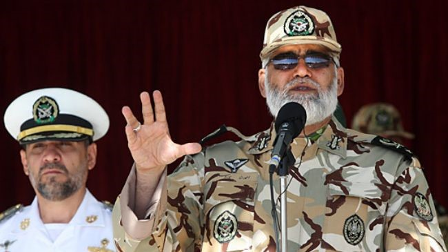 Iran Army to unveil new military hardware: Commander