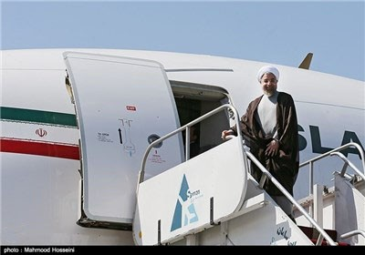 Iran President Ends UN Trip, Departs for Russia's Astrakhan