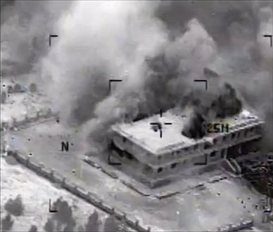 Mideast Syria Airstrikes