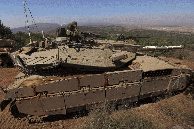 Hezbollah Claims Responsibility for the Bomb Targeted Israeli Tank