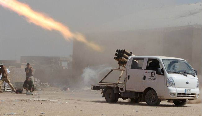 Peshmerga Backed by Shiites Attacks ISIS near Tikrit
