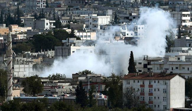 Kurdish Fighters Push Backs ISIS in Kobane