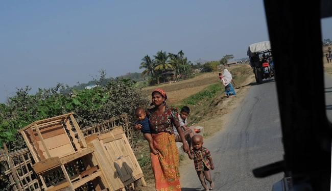 8000 Muslims in Myanmar Flee in 2 Week