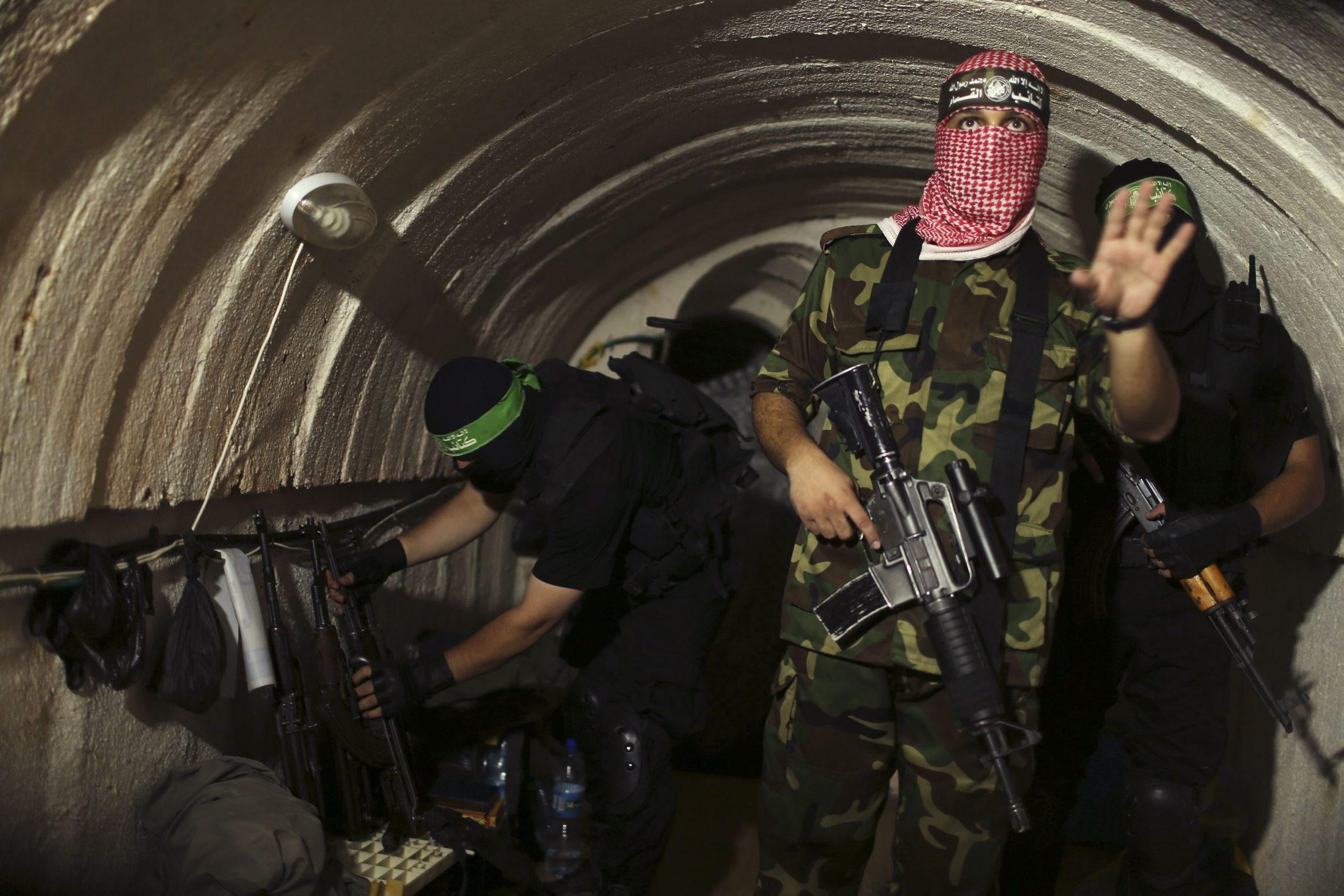 המנהרה הוצגה בפני כתבים