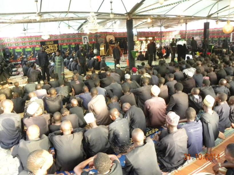 Pictures of Ashura gathering in Zaria