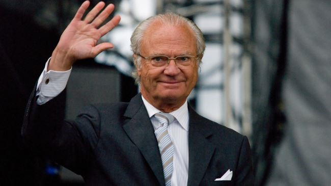 The king of Sweden has congratulated the national day of the 'State of Palestine'