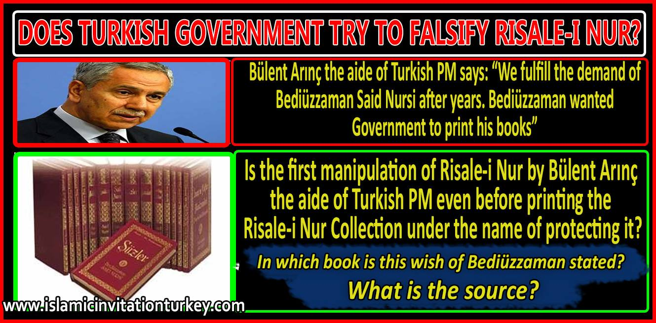 falsify of risale