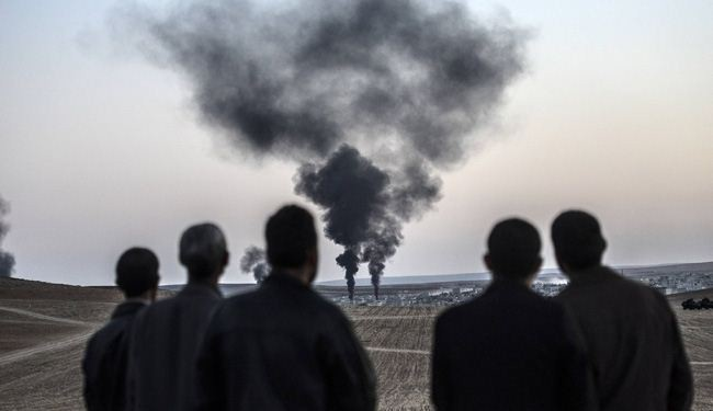 Fighting Continued Between Kurds and ISIS Terrorists in Kobani