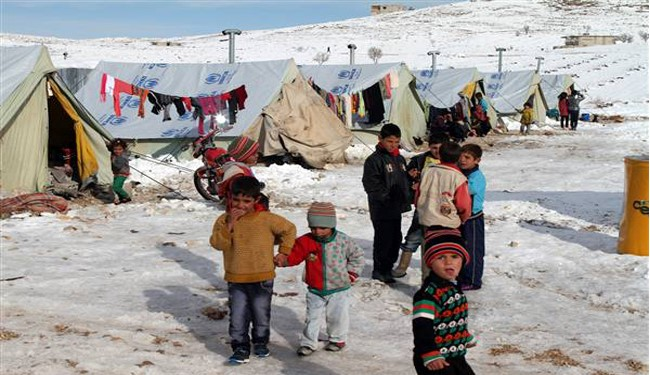 13 Million Syrian Refugees Across the globe in Brutal Winter, Western Powers Supporting ISIL Militants