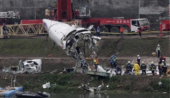 TransAsia Plane Crash:Pilot Found Clutching Joystick