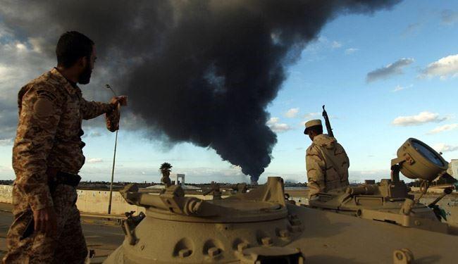 Fighting in Libya's Benghazi Intensifies