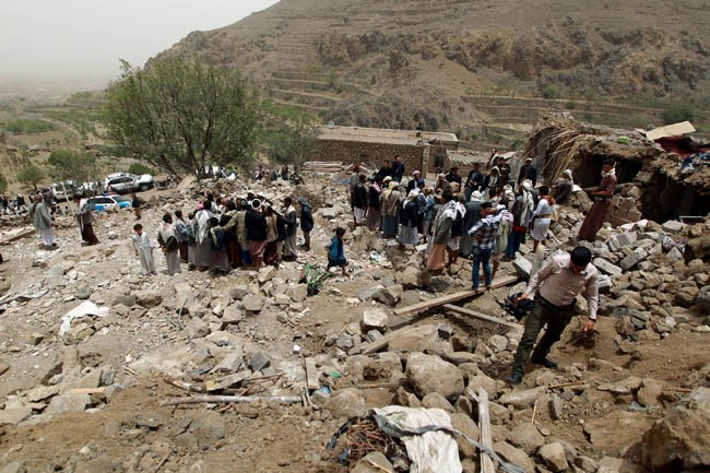 Some Pics OF Saudi-Led Crime Against Defendless Yemeni People