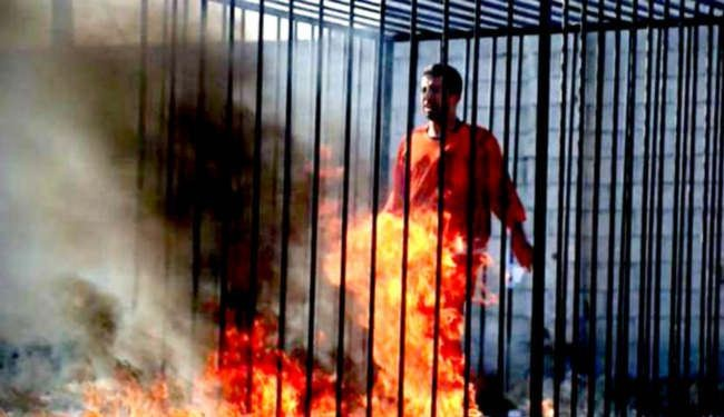 Who Set Jordanian Pilot Muath al- Kasasbeh on FIre?