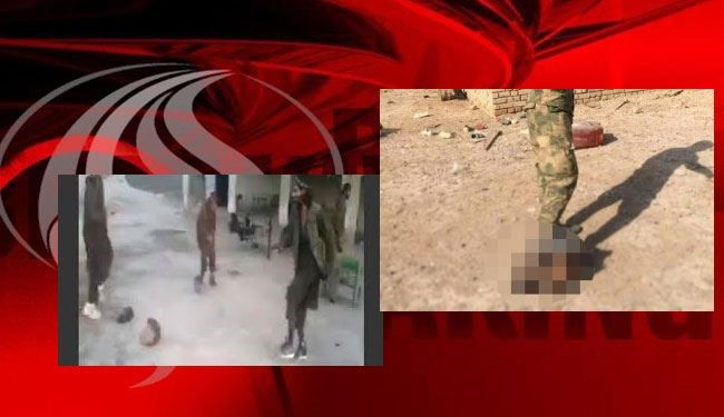 ISIS 'playing football with severed head': witness + Video
