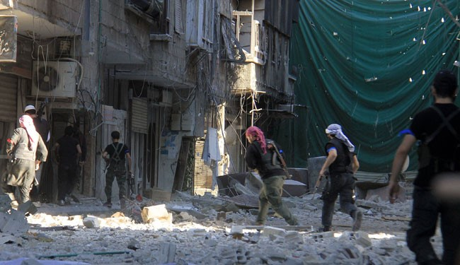 Fighting rages on Friday in Yarmouk