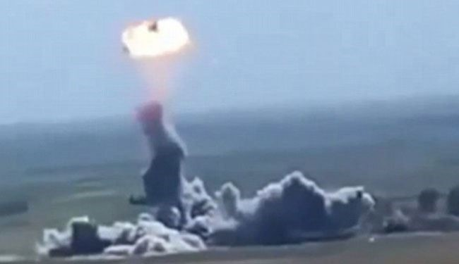 Watch: ISIS Suicide Bomber's Vehicle Explode & Flies!