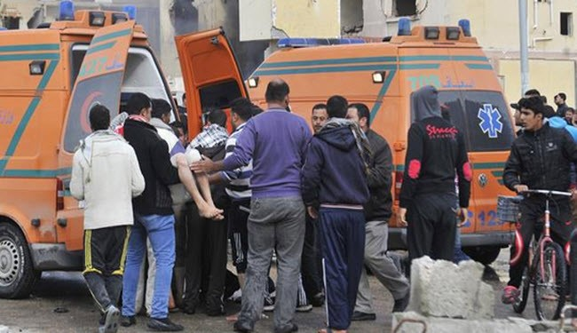 Two children killed in a mortar attack in Egypt