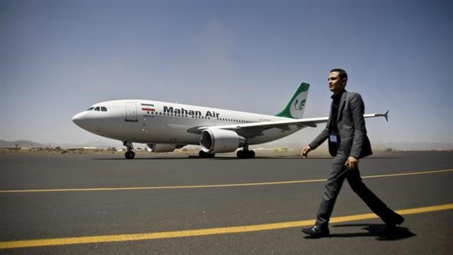 Saudi Warplanes Blocks Iran Aid Flight's landing in Yemen