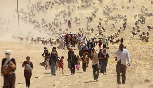 Yazidi refugee crisis